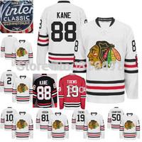 cheap Blackhawks Jonathan Toews Patrick Kane Marian Hossa Patrick Sharp Duncan Keith White 2015 Winter Classic Hockey Jerseys