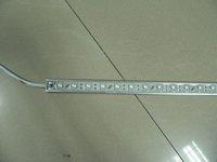 waterproof super flux LED Rigid strip light;30pcs Piranha led;0.5m long;metal housing,please advise the color(R/G/B/W/WW/G)