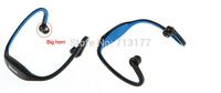 S9Sport Neckband Style Headset 3.0 Wireless Stereo Bluetooth EarphoneHeadphone for Mobile phones, tablets, laptops,etc.LOGO-BLUE
