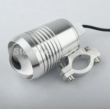 U2 CREE LED Motorcycle Laser Gun Cannons Fisheye Lens LED Retrofit Lamp Headlight Day Light Motorcycle Car Waterproof Light Lamp(China (Mainland))