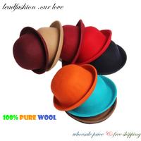 Chapeu Masculino Hot Fashion Sombrero Chapeu Panama Foldable Hats Floppy fan Cap Pure Wool Fedora Hat for Women Beanies