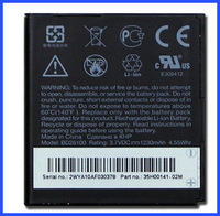 New battery for htc desire hd battery 1230mah for HTC G10 A9191 Desire HD T7878 db26100 Series
