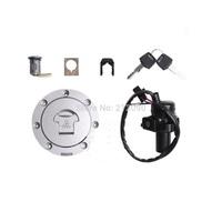 Fuel Cap key set  For Honda CBR 250 400 VFR400 NSR250 Ignition Switch Lock & Fuel Gas Cap Key Set