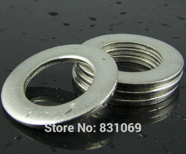 1000pcs/Lot Free Shipping M2.5 304 Stainless Steel Flat Washer Plain Washer DIN125(China (Mainland))