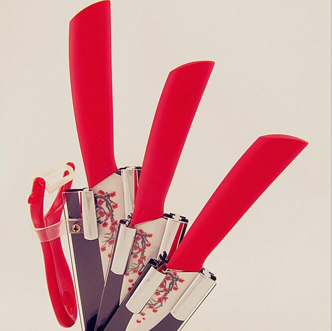 Набор кухонных ножей Loving Home 2015 5pcs/3 4 5 , 3 4 5 inch + Peeler+Holder kf 680 3 in 1 3 5 6 chic nanometer ceramic knives peeler set w holder white black