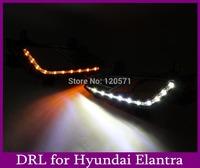 Top Quality Led Daytime Running Light Hyundai Elantra Led DRL Car Fog Lamp Fast Free Shipping