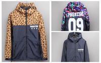 Sports Camouflage Coat Thin Stitching Casual Windbreaker Jacket Hoody Couple Fashion Skating Jackets 3Colors