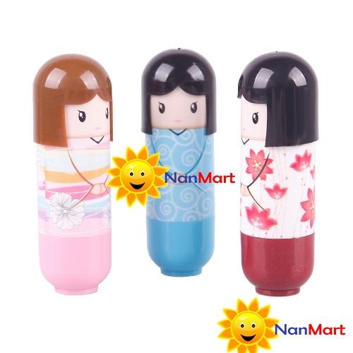 Бальзам для губ OEM NanMart ! 1 DIY Doll Lip Balm цветной бальзам для губ it s skin macaron lip balm 05 цвет 05 lovechoco variant hex name a46752