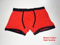 One piece soft and comfortable Men's Boxer underwear Modal Cotton underpants sexy men's Boxer Briefs Freeshipping ^KKK