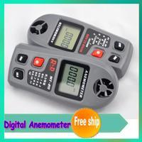 New Large-screen LCD wind speed measurements MT20 digital anemometer measuring range: 0 ~ 30m / s