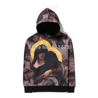 Newest 2015 hip hop skate fashion unisex men angeles in heaven cotton pullover