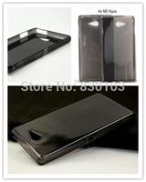 Anti skid Jelly TPU Case Cover For Sony Xperia M2 Aqua D2403 D2406 Free Ship