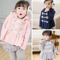 2014 unique design Autumn flower children girls cotton sweater jacket Korean children cardigan coat jacket