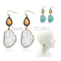 Earrings For Women Trendy Silver Plated Acrylic Lovisa Jewelry Oroton Stone Vintage White Blue Channel Ear Cuff Australia Brand