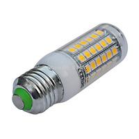(1PC)New arrival 69leds SMD 5050 E27 LED bulb lamp ,Warm white/white,7W 110V-220V 5050 SMD e27 LED Corn chandelier Light