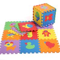 Baby floor mats EVA  Animals  floor pad foam crawling mat kids play mats Children jigsaw puzzle pads