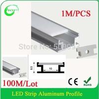100M/Lot LED Corner Profile, 1m/pcs Aluminum LED Strip Profile for Corner
