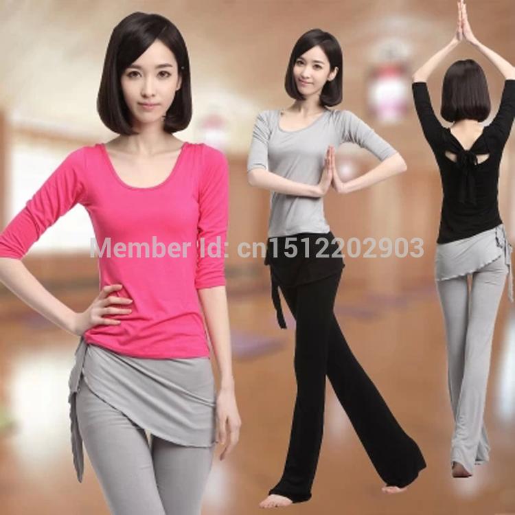 Nouvelles couleurs 8 hiver, jane mode beauté des femmes yoga fitness costume costume de danse