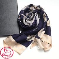 NEW Winter Women Scarf Fashion brand designer silk scarves wraps floral letter printed long shawl desigual scarfs