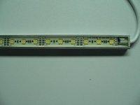 waterproof 5050 SMD LED Rigid strip light;30pcs 5050 SMD led;0.5m long;metal housing,please advise the color(R/G/B/W/WW/G/RGB)