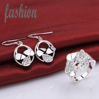 New Design 925 Silver Jewerly Set,Cheap Bridal Party sets Hot Sale SMTS790