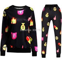 Emoji outfit emoji joggers and sweatshirt men emoji joggers leggings women joggers pants emoji jogger set girl emoji joggers
