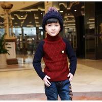 2015 fashion trend children clothing child clothes cotton & wool blend sweater turtleneck knitwear kids tops