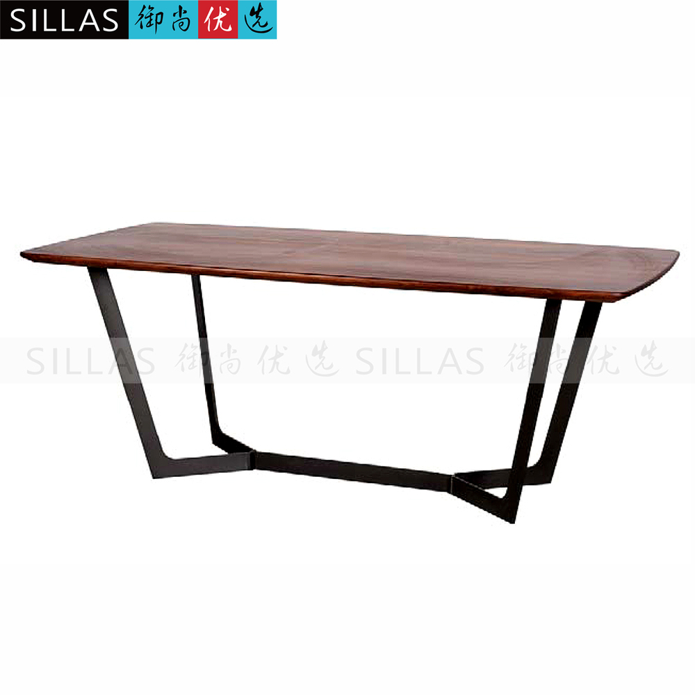Inexpensive Conference Table Discount Brkect368wa  : Black walnut dining font b table b font two meters long font b conference b font from www.artofarchitect.com size 1000 x 1000 jpeg 190kB