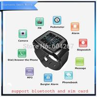 Andriod Smart Watch Bluetooth Audio Camera Stop Watch Pedometer Watch