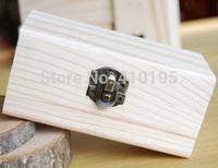 Free shipping wholesale 20pcs/lot 8.5*5*3.8CM Fashion wooden packaging box,DIY jewelry display wood box
