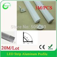 20M/Lot V Shape 1616 1M Length Aluminum Bar  Corner bar light  corner aluminum profile for the wall and Ceiling