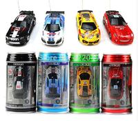 New Mini Coke Can RC Radio Remote Control Micro Racing Car Hobby Vehicle Toy Christmas