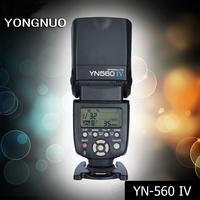 Yongnuo Flash YN-560 IV YN560 IV Master Slave Flash Speedlight+Built-in Radio Trigger for Canon Nikon Pentax Olympus DSLR