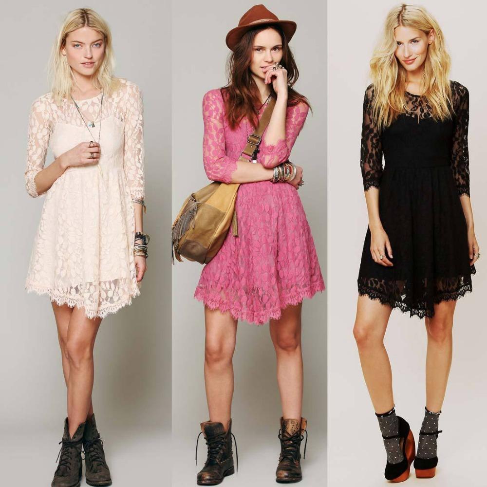 Wholesale Women Casual Dress Inequality Half Sleeve V Neck Knitwear ...
