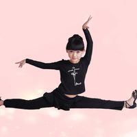 Hot Ballet Latin Dance Dress for Children Suspender Girl Ballet Tutu Fitness Women Performance Gymnastics Leotard Costume LD019