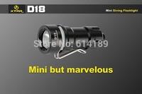 XTAR D18 CREE XM-L2 U2 300 Lumen mini LED Diving Flashlight (1x16340/1xCR123A/1xRCR123A)