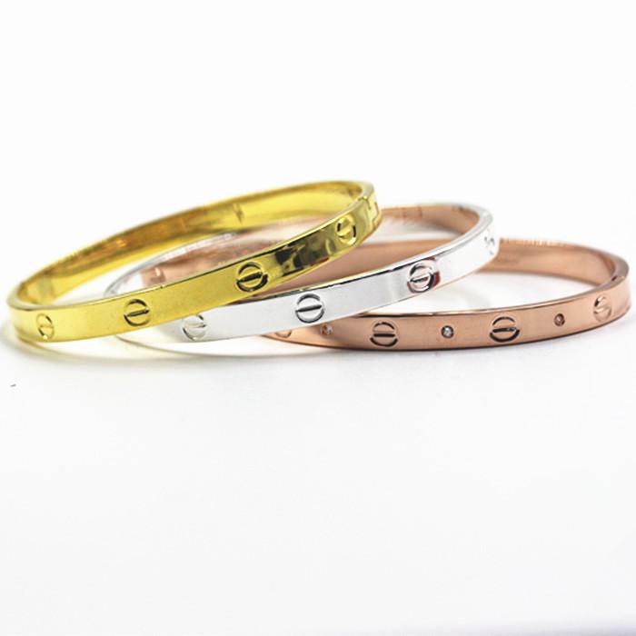 Hot New Brand Pretty Lady Vintage Bangle 3 Colors Gold Plated Metal Bangle bracelet bangle jewelry Wholesale Free shipping(China (Mainland))