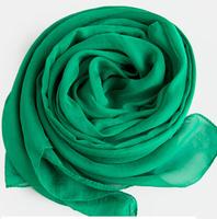 Chiffon and scarf  green