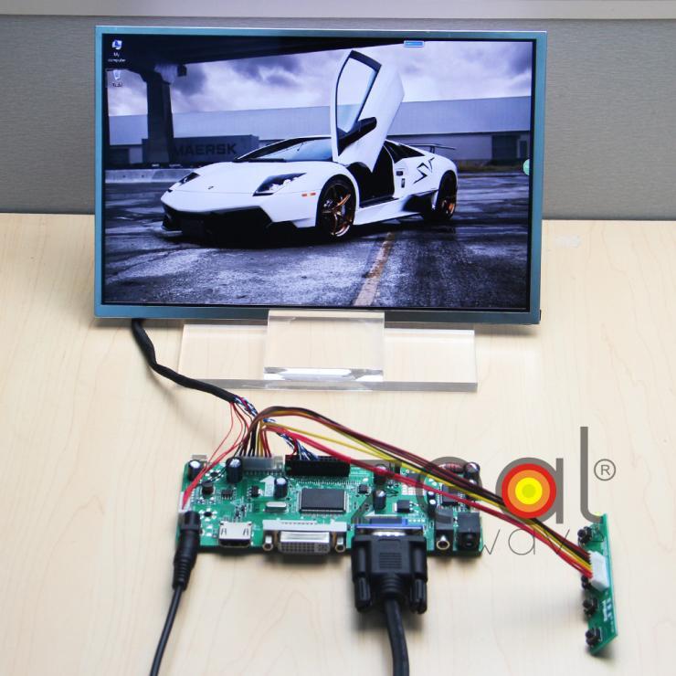 "(HDMI+DVI+VGA+Audio) LCD/LED Controller Board+N101ICG-L21 HSD101PWW1 10.1"" 10.1Inch 1280*800 IPS LCD Display(China (Mainland))"