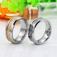 Accessories Fashion Dragon Ring, Male Biker Tungsten Carbide Ring Women Men Band Wedding Jewelry, Best Christmas Gifts