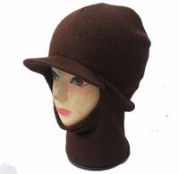 winter knitted  face mask visor hat bicycle motorbike head warmer ski hat  cap