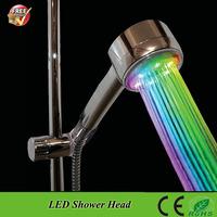 SDS-A12C 7 Color Changing LED Light Bath Shower Lighting Water Saving  led rainfall shower head