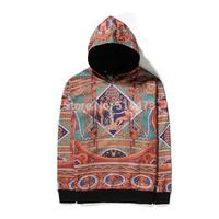 hot new 2015 spring autumn hip hop unisex men religion printed hoodie pullover