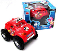 Free shipping Hot sale Ultra-fast electric dump truck cartoon baby car toy 2 colors best gifts
