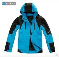 Ski-wear, female Necessary warm winter outdoor sports jacket mountaineering outing waterproof mountaineering wear