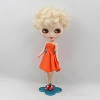 nude doll 1/6 bjd doll female short hair styles for big eyes sister bjd Doll suitable for changing DIY Kids toys doll for girls
