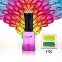 Free shipping 24PCS LVMAY Chameleon UV gel nail  soak off color gel nail polish Temperature Change color gel