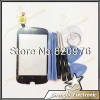 10pcs/lot Wholesale Original Touch Screen Touchscreen Digitizer Glass Replacement For Alcatel OT990 + Open Tools