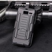 Future Armor Impact Heavy Duty Stand Hard Case For Motorola RAZR i XT890 RAZR M XT907 Cover Belt Clip Holster+ Flim + Stylus