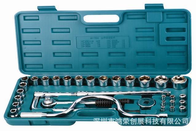 Fabricantes de abastecimento de 28 12.5 mm Series conjunto de soquete material de aço cromo manualmente soquete tool set(China (Mainland))